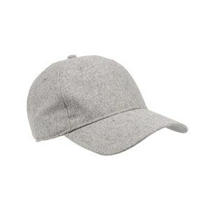 ladies ball cap • flannel heather gray